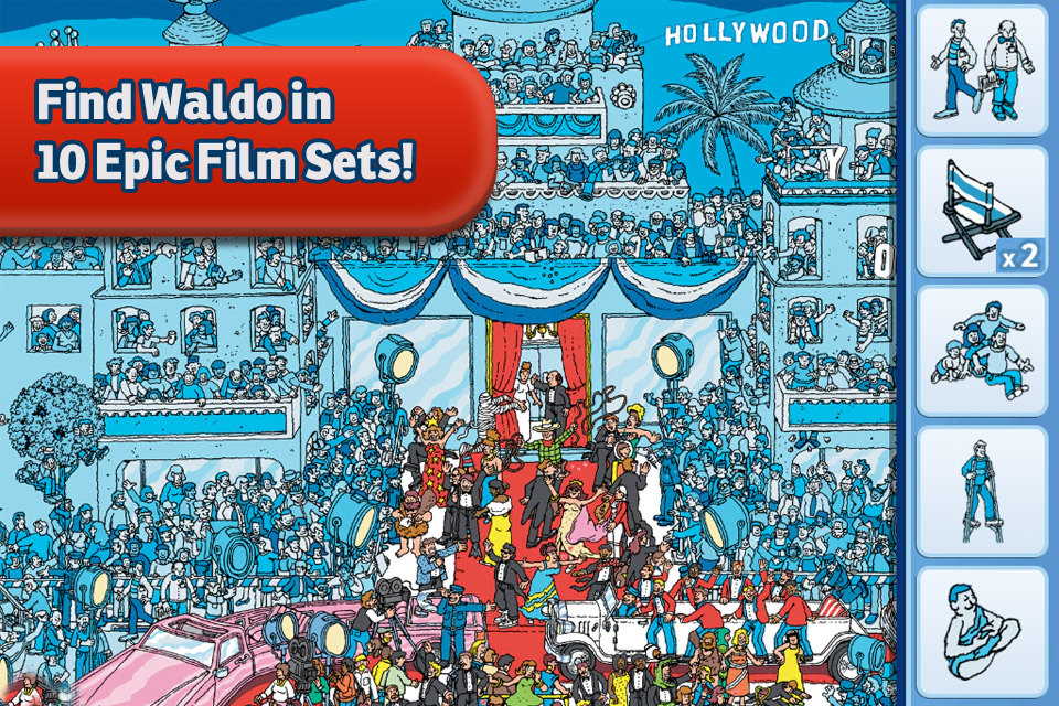 Screenshot Where's Waldo?® in Hollywood